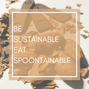 Be sustainable eat Spoontainable