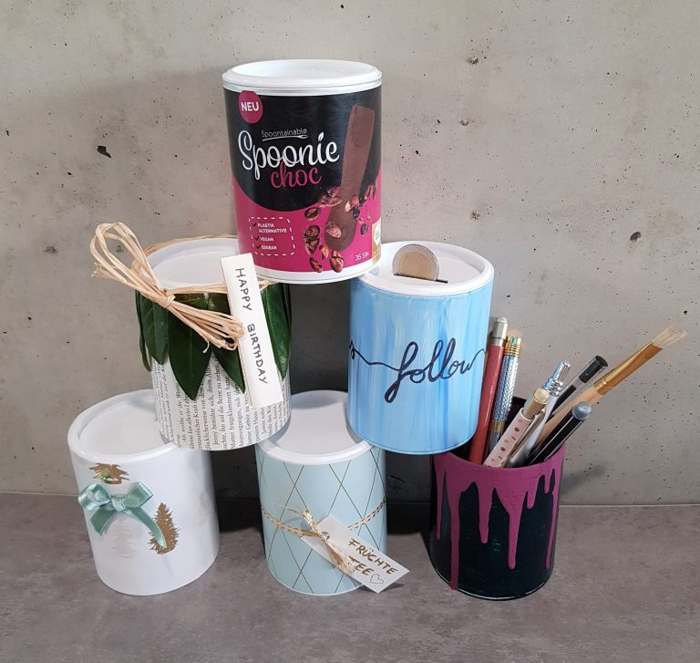 Alle Dosen upcycling Ideen